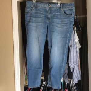 Lane Bryant ankle skinny jeans size 20